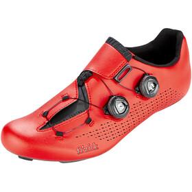 Fizik Infinito R1 Rennradschuhe Unisex rot/schwarz